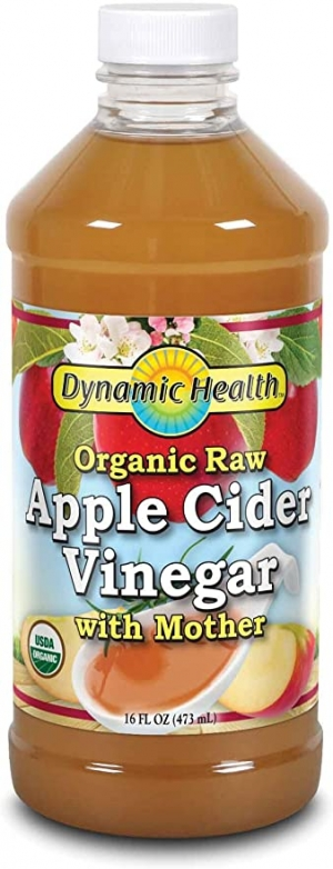 ihocon: Dynamic Health Organic Cider Vinegar with Mother, Raw Apple, 16 oz 有機蘋果醋