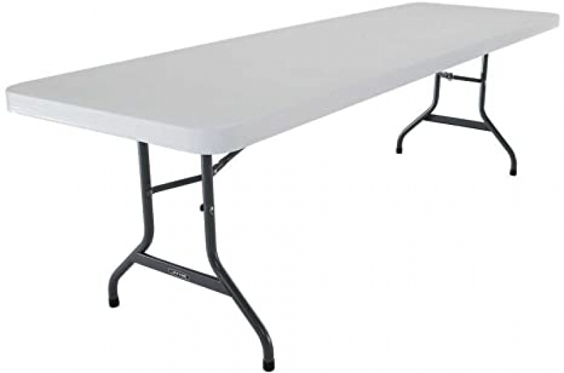 ihocon: Lifetime 22984 Folding Utility Table, 8 Feet 折疊桌