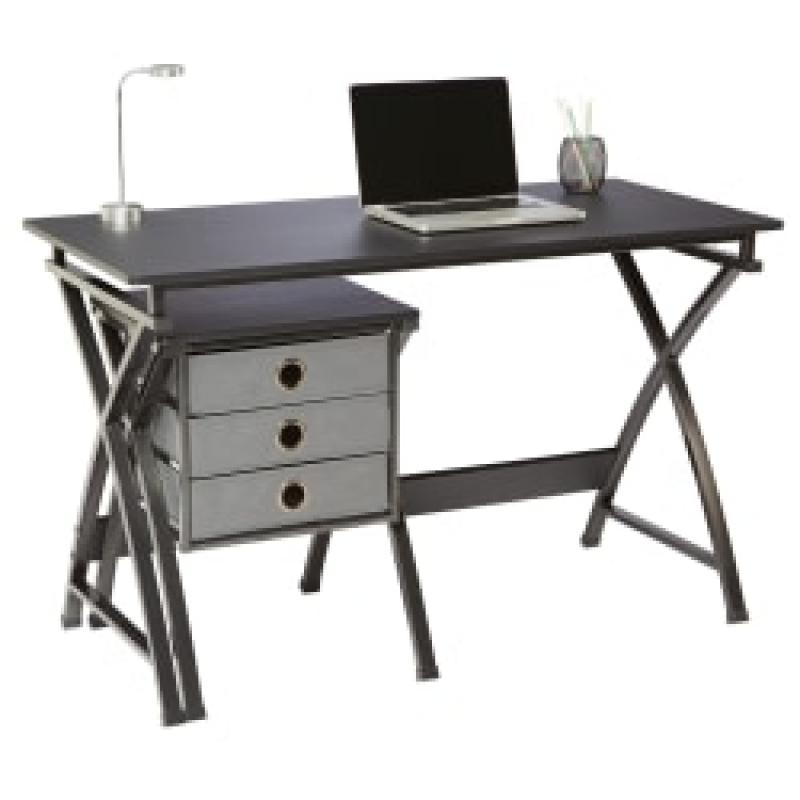 ihocon: Brenton Studio X-Cross 48W Desk And File Set 電腦桌/辦公桌