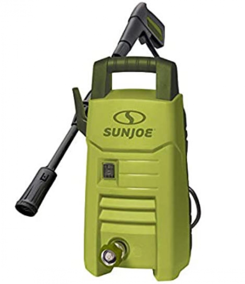 ihocon: Sun Joe SPX206E 1600 PSI 1.45 GPM Max Compact Electric Pressure Washer, w/Variable Tip Lance高壓沖洗機