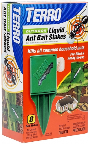 ihocon: TERRO T1812 Outdoor Liquid Ant Killer Bait Stakes - 8 Traps  室外螞蟻藥