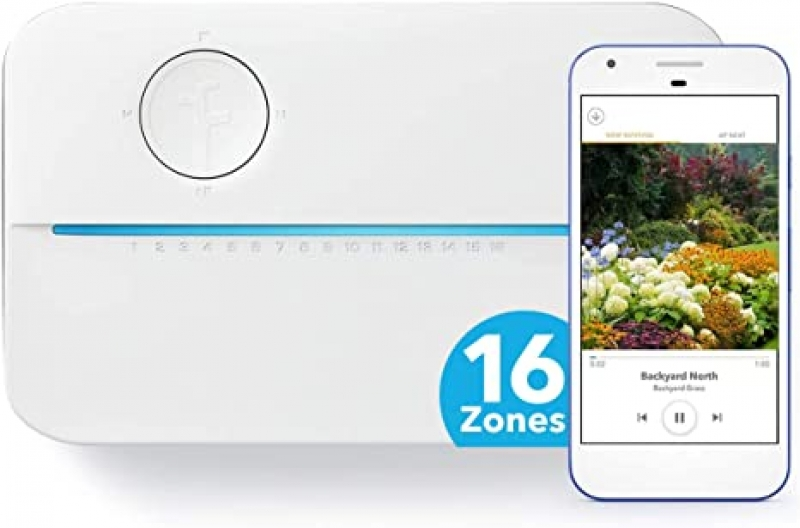 ihocon: Rachio 3 Smart Sprinkler Controller, 16 Zone 3rd Generation, Alexa and Apple HomeKit Compatible 智能灑水控制器