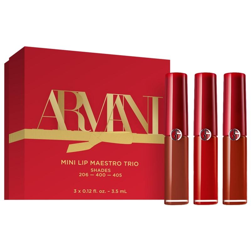 ihocon: Armani Beauty Mini Lip Maestro Liquid Lipstick Set  迷你液體唇膏套裝