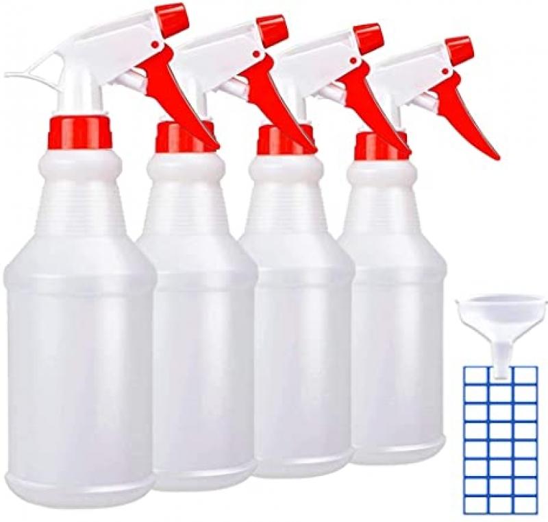 ihocon: JohnBee Spray Bottles, 16oz/4Pack 噴水瓶