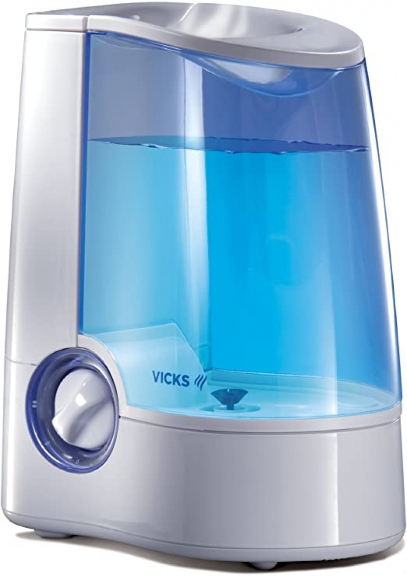 ihocon: Vicks Warm Mist Humidifier, 1 Gallon Tank, Works With Vicks VapoSteam室內加濕器