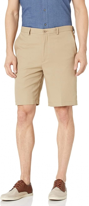 ihocon: Haggar Men's Cool 18 Pro Straight Fit Short 男士短褲