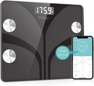 ihocon: Posture Body Fat Scale, Body Composition Analyzer with Smartphone App 體脂體重秤