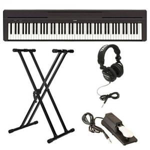 Yamaha P-45B 88鍵電鋼琴, 含琴架, 踏板及耳機 $499.99(原價$673.38)