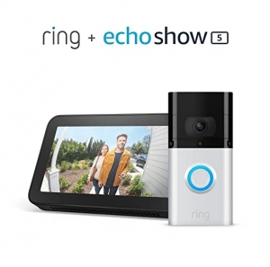 ihocon: All-new Ring Video Doorbell 3 Plus with Echo Show 5