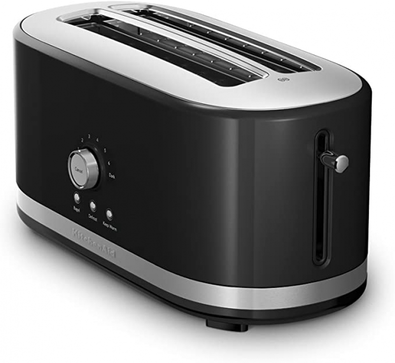 ihocon: KitchenAid KMT4116OB 4 Slice Long Slot Toaster with High Lift Lever 4片長槽烤麵包機