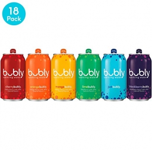 ihocon: Bubly Sparkling Water, All for Love Variety Pack, 12 Ounces cans (18 pack) 氣泡水