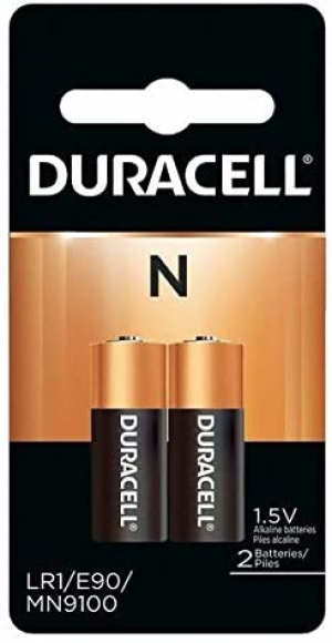 ihocon: Duracell Coppertop Alkaline Medical Battery, N, 1.5V, 2 Pack 醫用電池