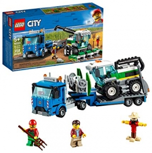 ihocon: [2019新款] LEGO City Great Vehicles Harvester Transport 60223 Building Kit, 2019 (358 Pieces)