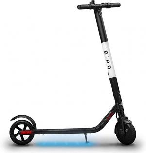 ihocon: Bird ES1-300 Ultra-Lightweight 300-Watt Electric Motor Scooter (Black) 成人電動踏板車