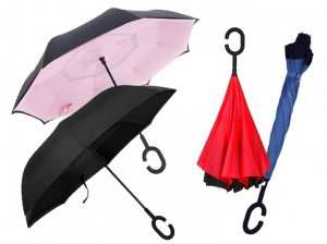 ihocon: Swisstek Reverse-Folding Umbrella 反向傘 - 多色可選