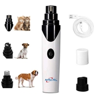 ihocon: NACRL Pet Nail Grinde for Dogs Cats 充電式寵物磨指甲器