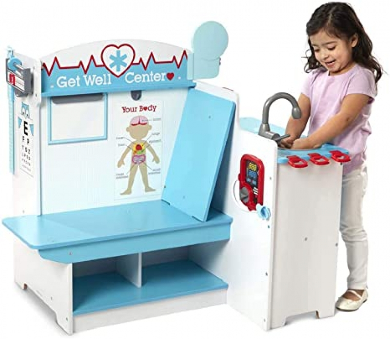 ihocon: Melissa & Doug Doctor Activity Center 兒童玩具 - 醫生診所