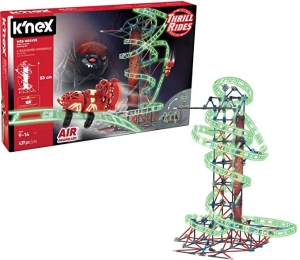 [新低價] K'NEX Thrill Rides Web Weaver Roller Coaster(439 Piece)雲霄飛車/過山車組合積木 $17.63