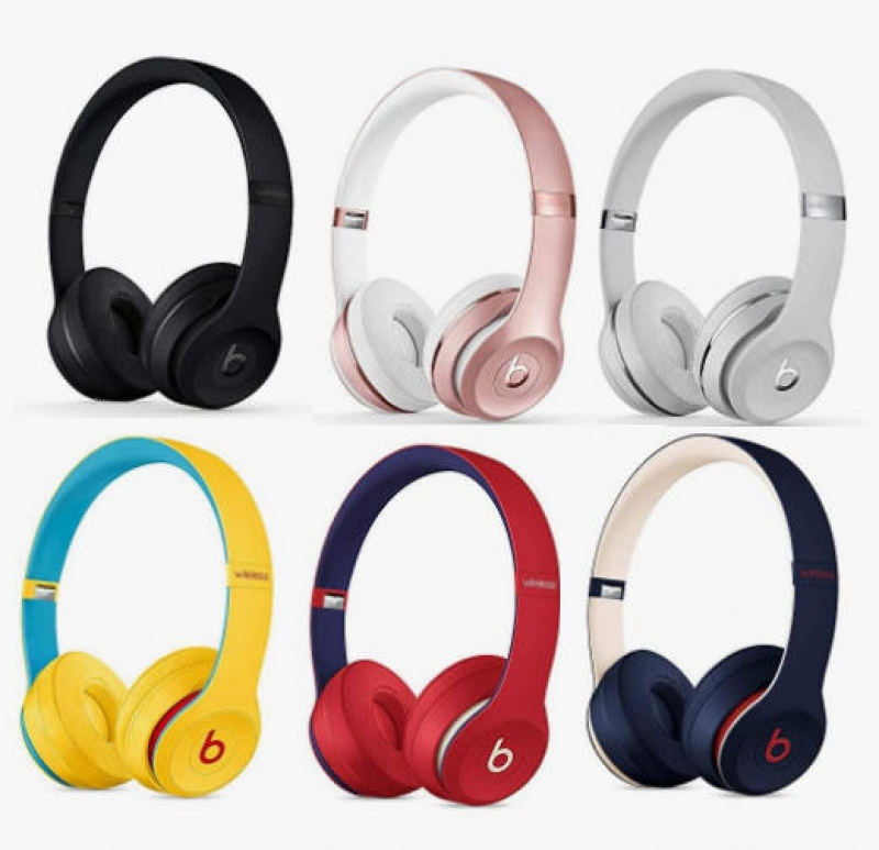 ihocon: [最新款] Beats Solo3 Wireless On-Ear Headphones - Apple W1 Headphone Chip, Class 1 Bluetooth藍牙無線耳機-多色可選