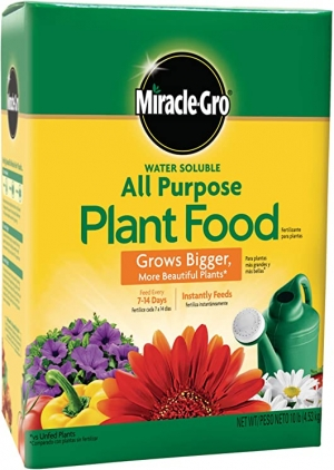 ihocon: Miracle-Gro Water Soluble All Purpose Plant Food, 10 Lb 水溶性萬用肥料