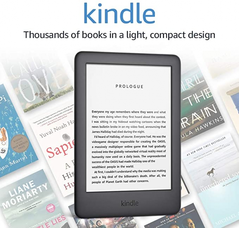 ihocon: Kindle - Now with a Built-in Front Light