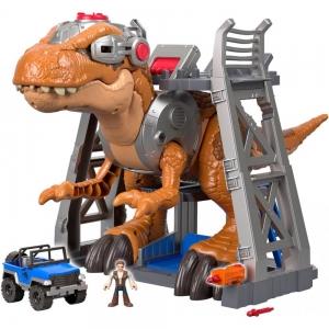 Imaginext Jurassic World Jurassic Rex Dinosaur Play Set $30.10(原價$99)