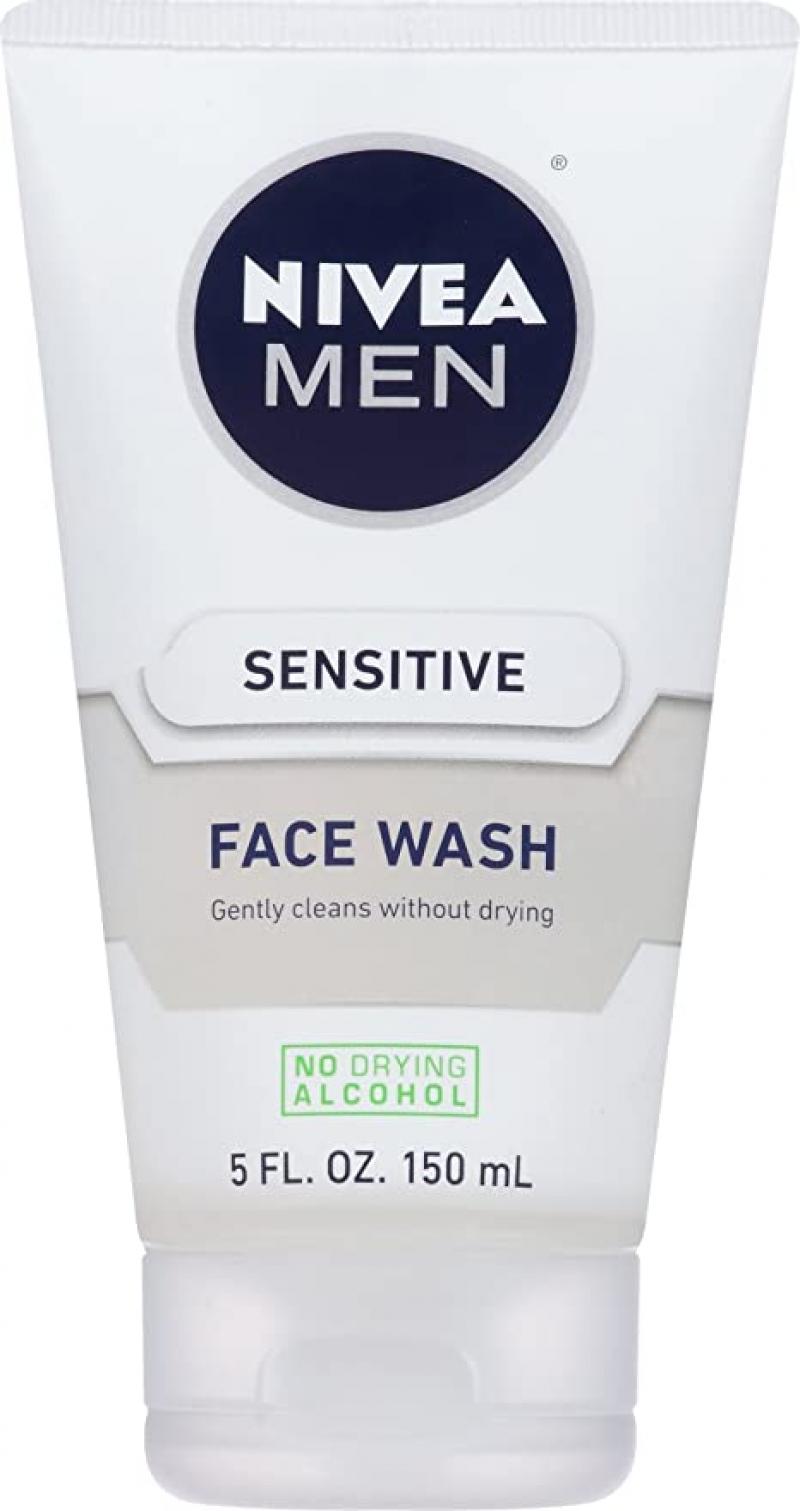 ihocon: NIVEA Men Sensitive Face Wash 5 fl. oz. 男士洗面乳