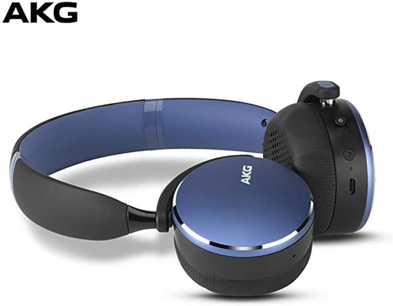 ihocon: AKG Y500 On-Ear Foldable Wireless Bluetooth Headphones藍牙無線耳機