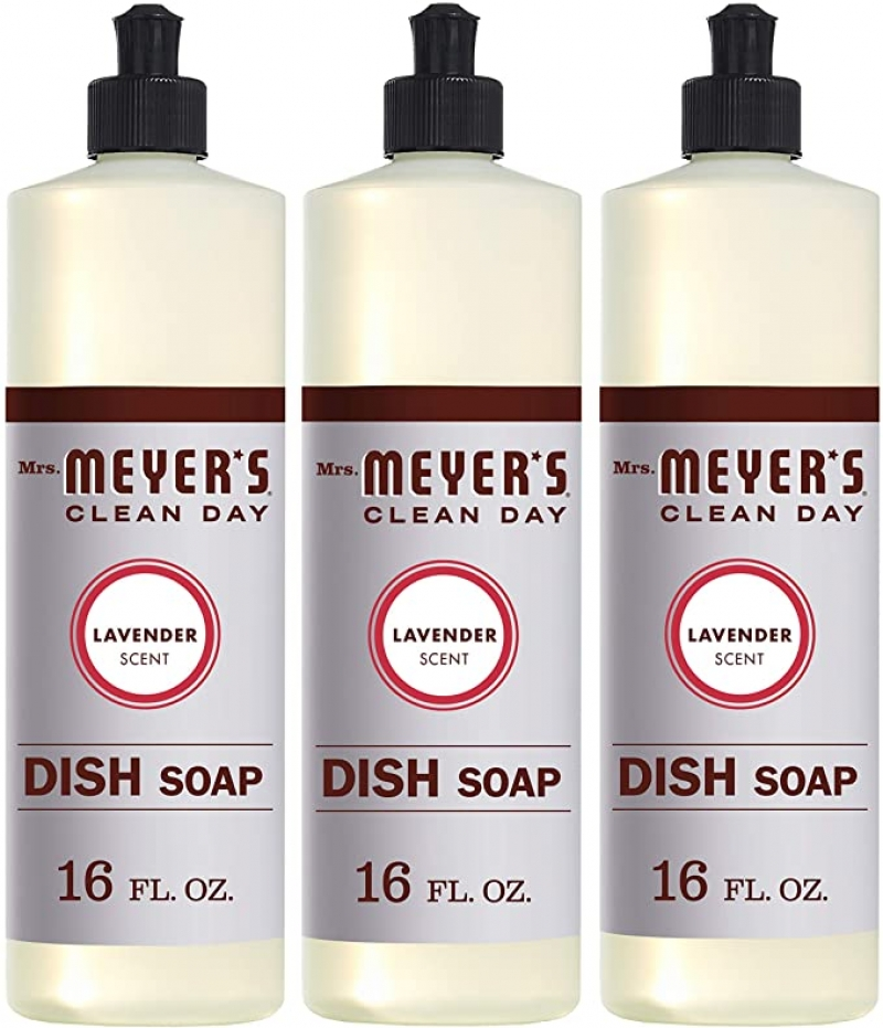 ihocon: Mrs. Meyer's Clean Day Liquid Dish Soap, Lavender Scent, 16 oz- Pack of 3 洗碗精