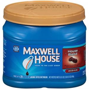 Maxwell House 研磨咖啡粉 24.5 oz  $5.31免運