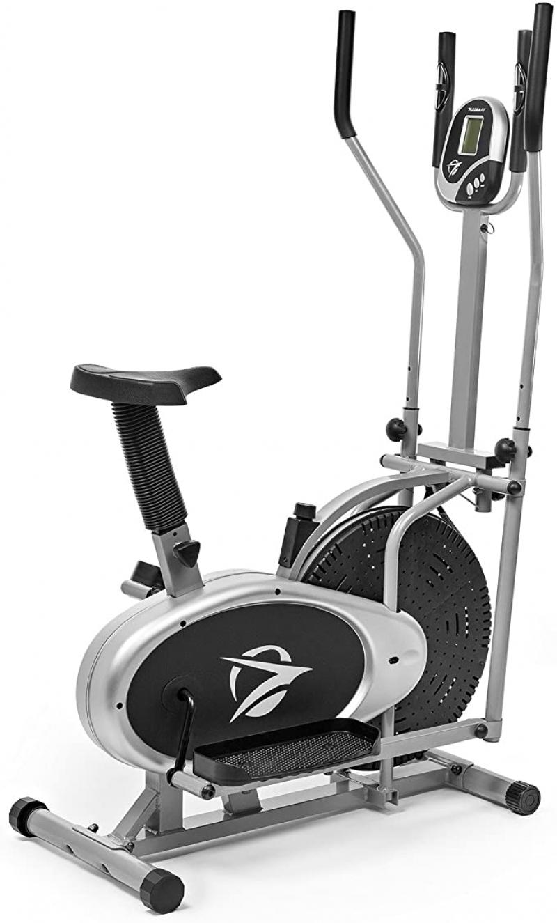 ihocon: Plasma Fit Elliptical Machine Cross Trainer 2 in 1 Exercise Bike Cardio Fitness Home Gym Equipment 健身自行車