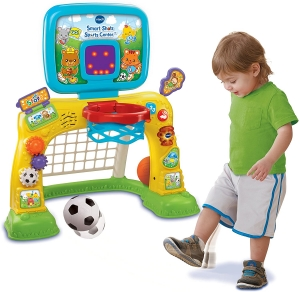 ihocon: VTech Smart Shots Sports Center 幼兒運動玩具