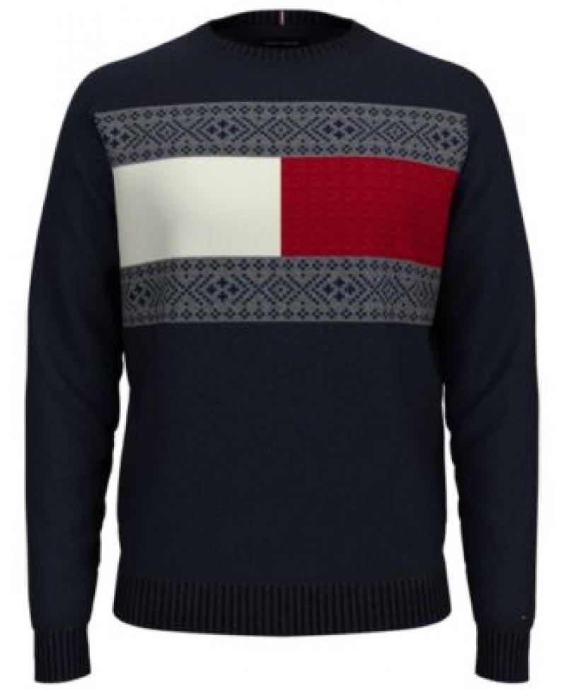 ihocon: Tommy Hilfiger Men's Fair Isle Sweater  男士毛衣