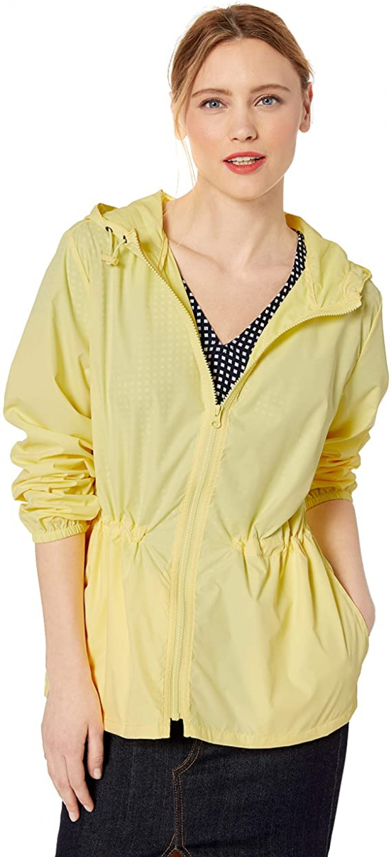 ihocon: J.Crew Mercantile Women's Packable Rain Jacket 女士防雨外套 (size: M)