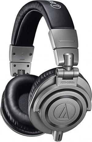ihocon: Audio-Technica ATH-M50xGM Professional Monitor Headphones, Gun Metal 專業監聽耳機