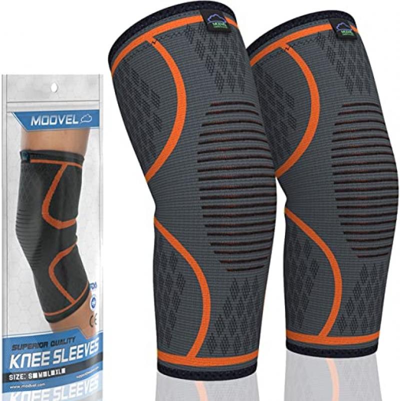 ihocon: Modvel 2 Pack Knee Compression Sleeve 護膝一副(男,女均適用)