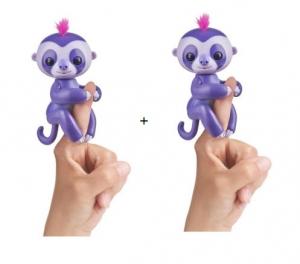 ihocon: Fingerlings - Interactive Baby Sloth, 2 pack