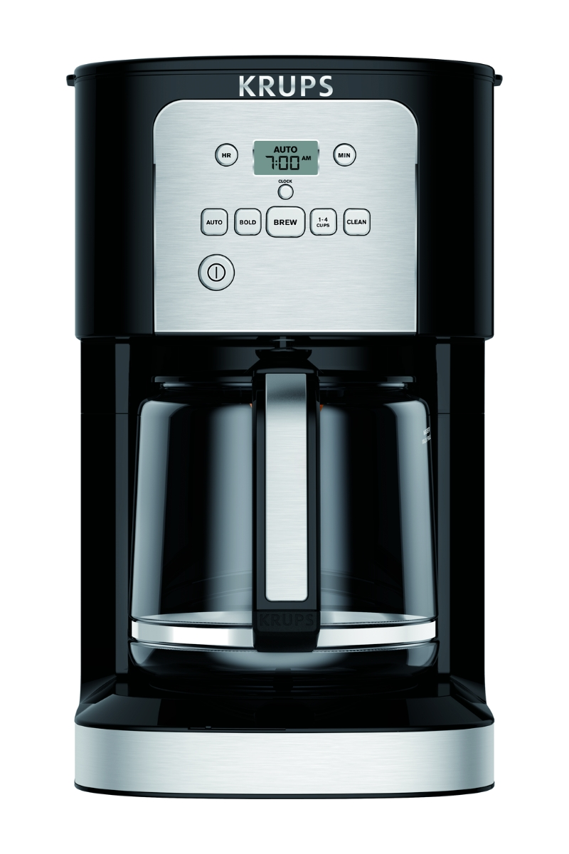 ihocon: KRUPS Thermobrew Programmable Coffee Maker, 12 Cup咖啡機