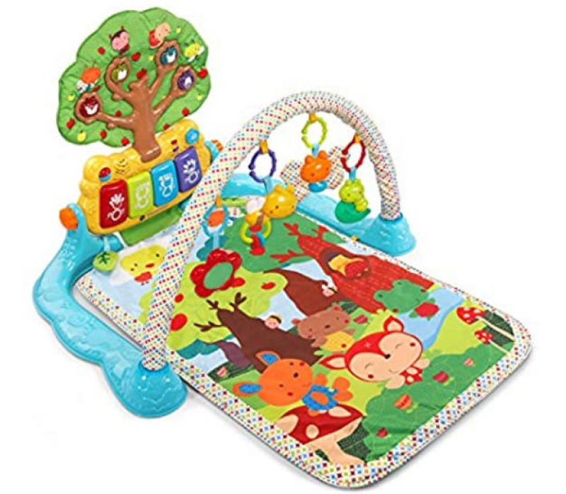 ihocon: VTech Baby Lil' Critters Musical Glow Gym 嬰兒遊戲墊