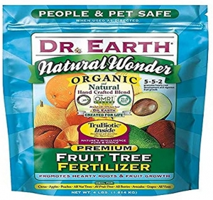 ihocon: Dr. Earth 708P Organic 9 Fruit Tree Fertilizer In Poly Bag, 4-Pound 有機果樹肥料