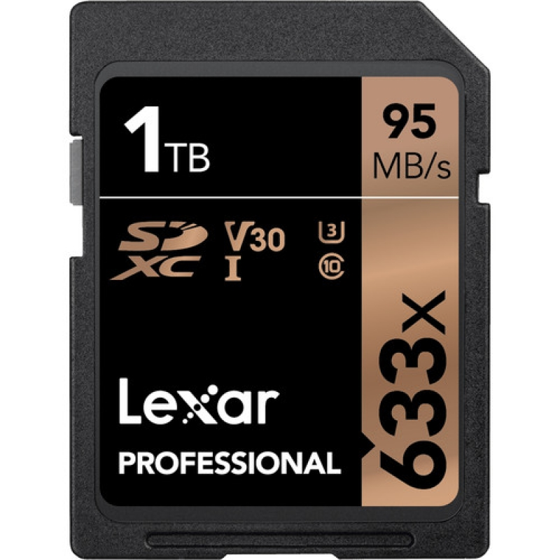 ihocon: Lexar 1TB UHS-I / U3 633x SDXC Memory Card記憶卡