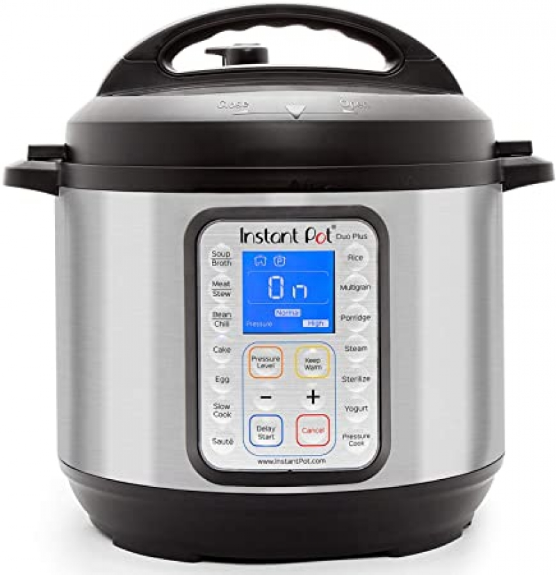 ihocon: Instant Pot Duo Plus 9-in-1 Electric Pressure Cooker, 6 Quart多功能電壓力鍋