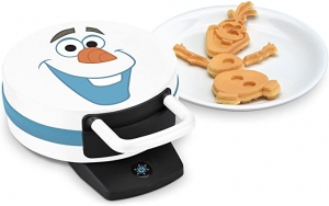 ihocon: Disney DFR-15 Olaf Waffle Maker, 12x5x9