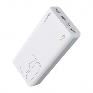 ihocon: ROMOSS 30000mAh 18W Fast Charge Type-C PD Portable Charger快速充電行動電源/充電寶