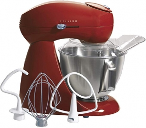 ihocon: Hamilton Beach Eclectrics 4.5-Quart All-Metal Stand Mixer (Red) 攪拌機