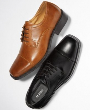 ihocon: Alfani Men's Adam Cap Toe Oxford 男鞋