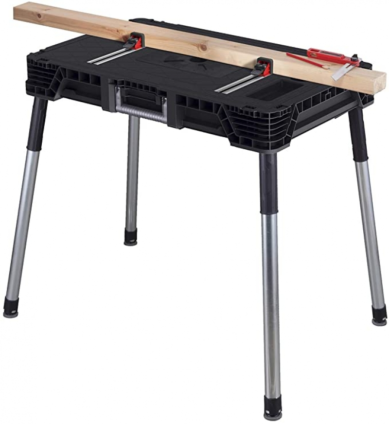 ihocon: KETER Jobmade Portable Work Bench and Miter Saw Table 便攜式工作台