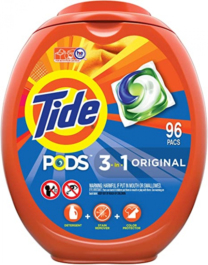 ihocon: Tide PODS Laundry Detergent Soap PODS洗衣膠膠96粒