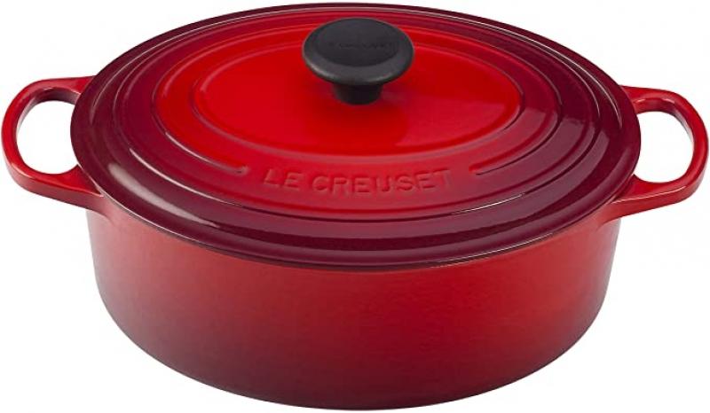 [今日特賣] Le Creuset 3.5Qt 琺瑯鑄鐵橢圓鍋- 多色可選 $159.95免運(原價$259.95)