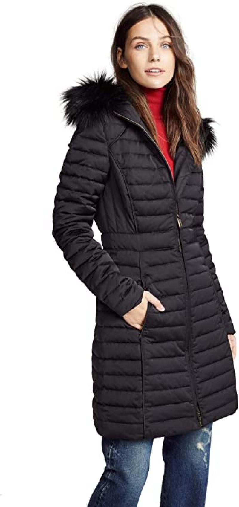 ihocon: Hunters Boots Women's Refined Down Coat 女士連帽羽絨大衣
